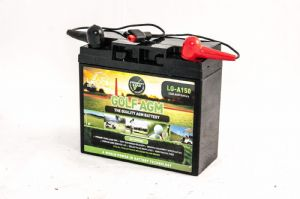 LEOCH 22Ah-12V AGM GOLF CART BATTERY 18+ Holes